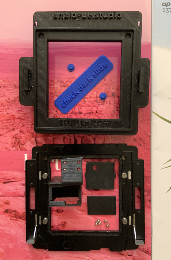 Analogue Studio RB67/MUP Polaroid Conversion Kit